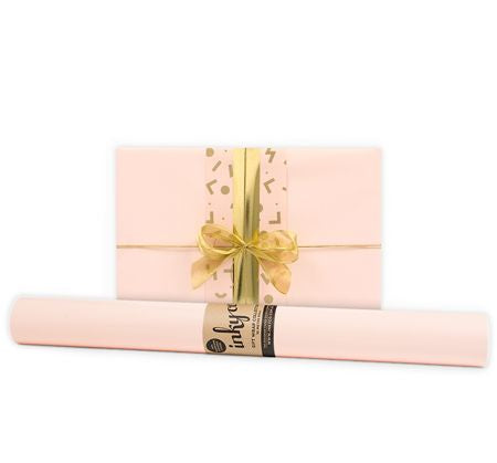 'Nude' Gloss Gift Wrap (10m Roll)