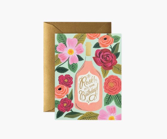 'Rose! It's Your Birthday' Greeting Card