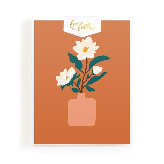 Blank 'Muse Magnolias' Greeting Card Boxed Set
