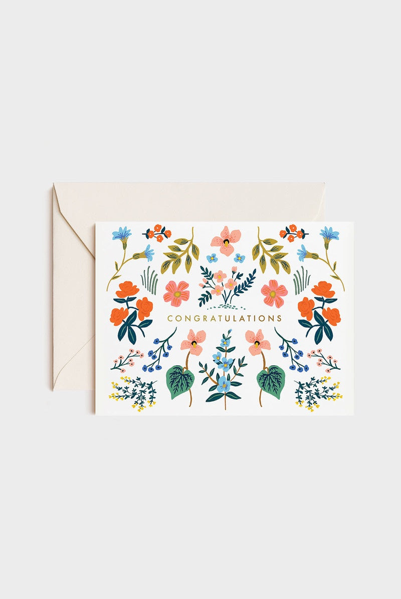 'Congratulations' Wildwood Greeting Card