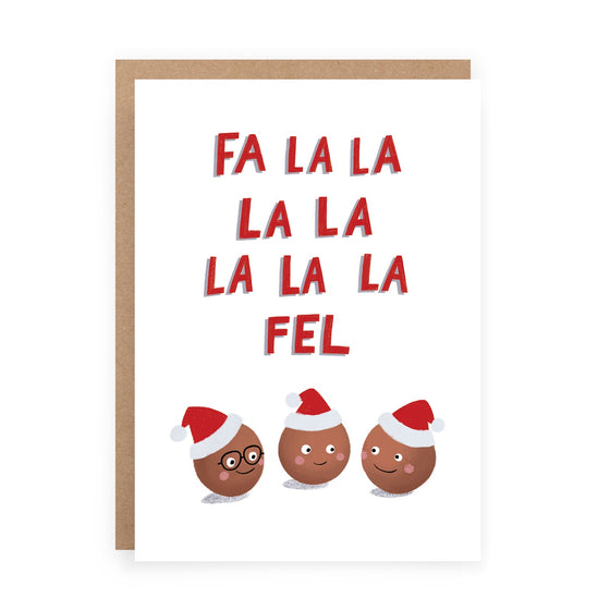'Falafel' Greeting Card