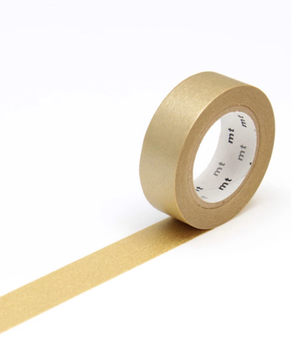 Load image into Gallery viewer, 'Block Gold' Washi Tape