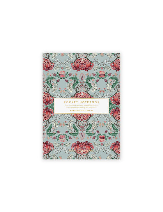 'Kaleidoflora' Blank Pocket Notebook