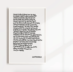 'Promises to My Children' Print | Parenthood Collection