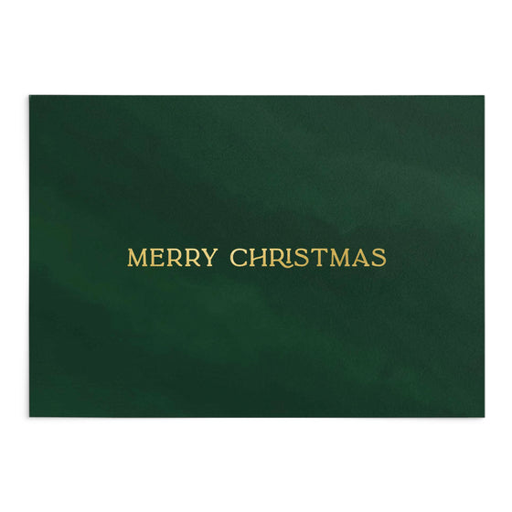 'Merry Christmas' Mistletoe Greeting Card (Shipping Mid Oct)