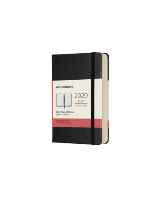 2020 Moleskine Daily Pocket Diary (Colour Options)