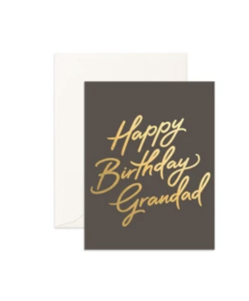 'Happy Birthday Grandad' Greeting Card