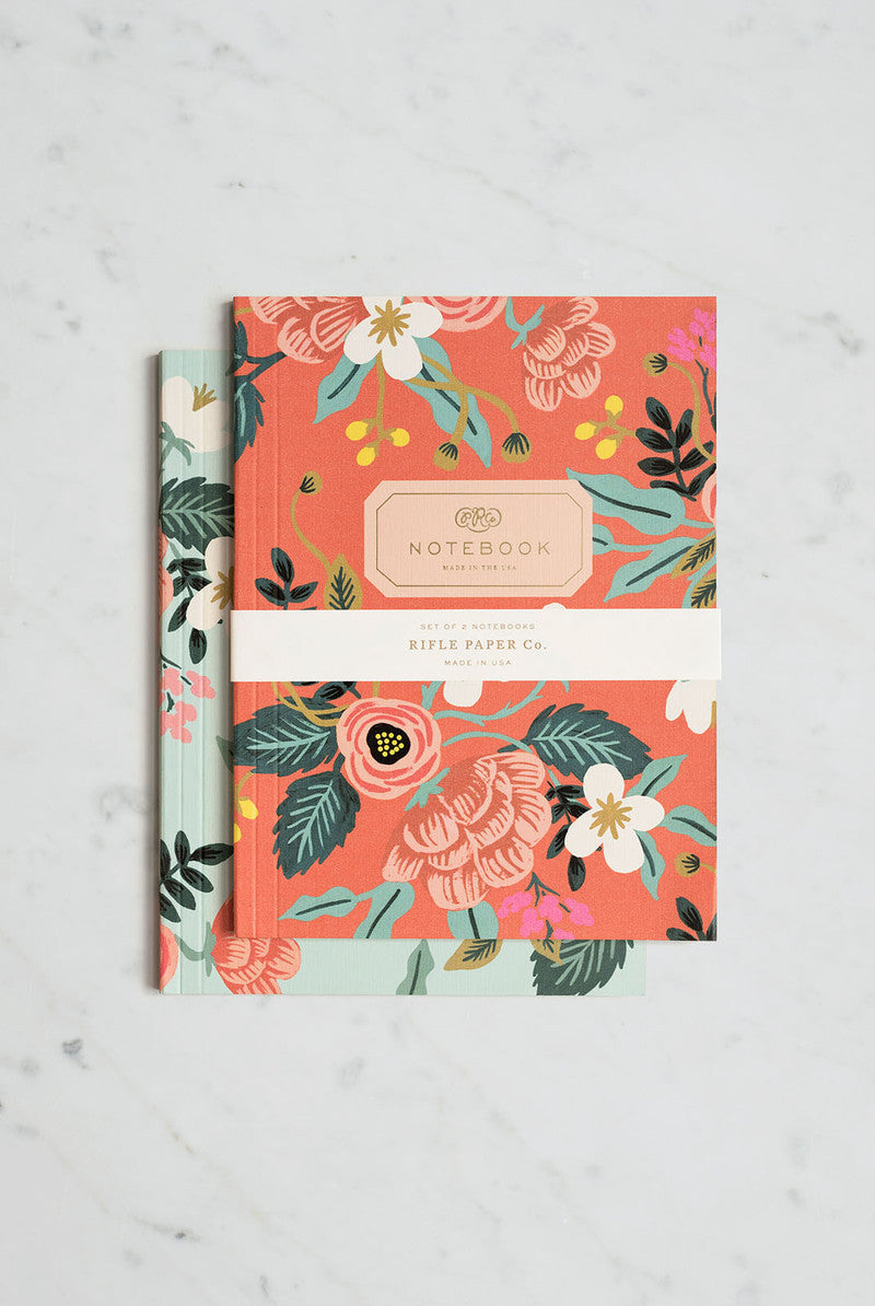 'Birch' Plain Notebooks (Pack of 2)