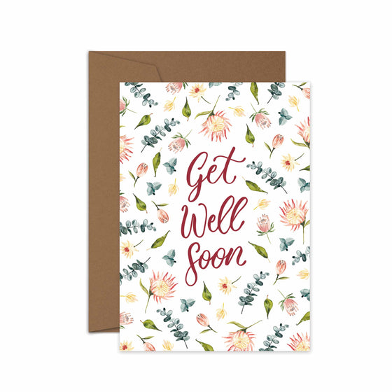 'Get Well Soon' Greeting Card
