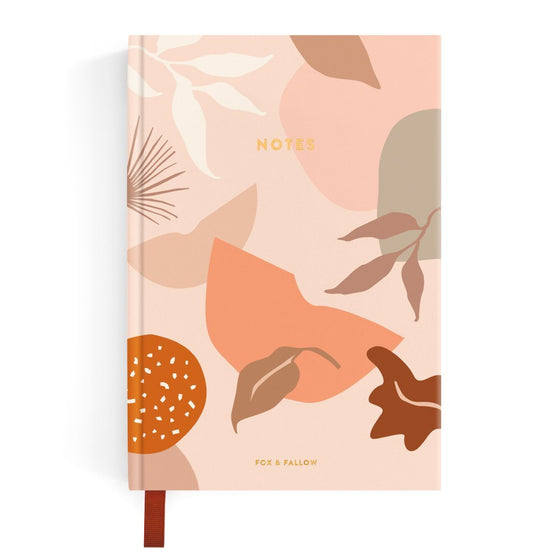 'Muse' Linen Bound Notebook
