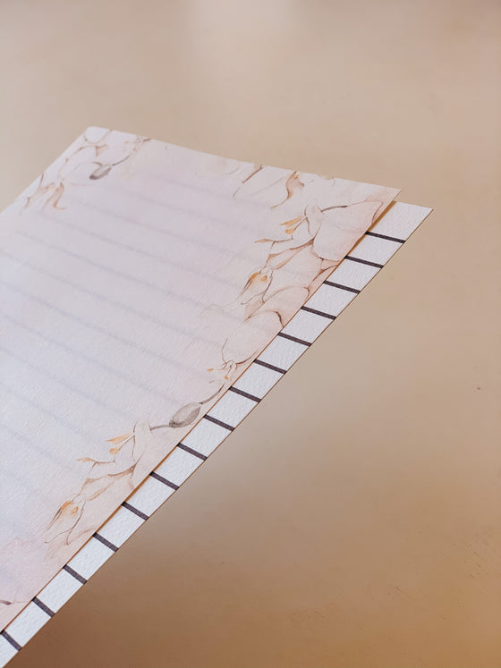 'Plants' Letter Writing Paper (Includes 'Line Guide')
