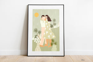 'Love Conquers All' Art Print