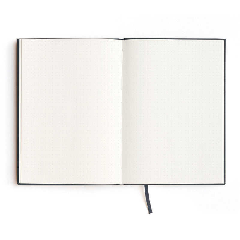 Soft Cover Linen Notebook in Black