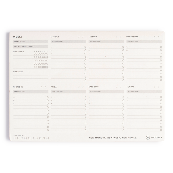 'Weekly' A4 Desk Pad
