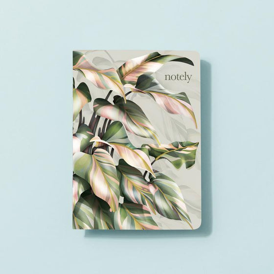 'Leafometry' A5 Lined Notebooks (Set of 2)