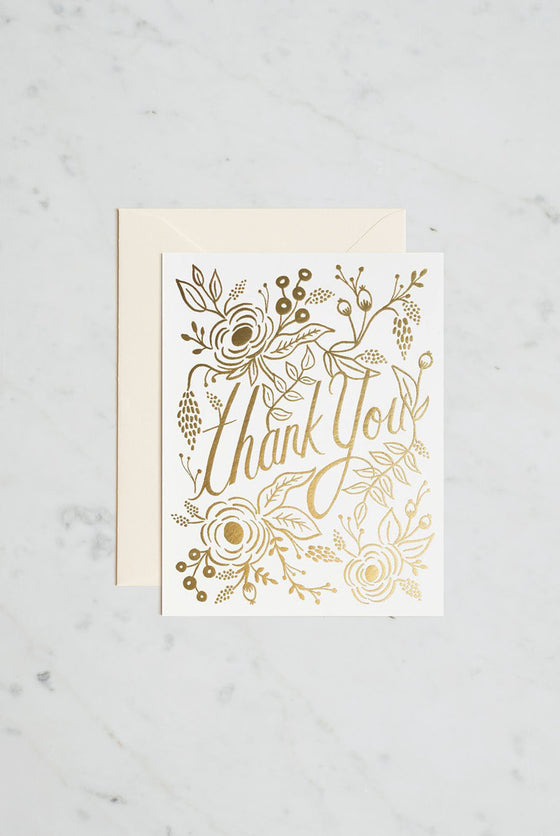 'Marion Thank You' Greeting Card