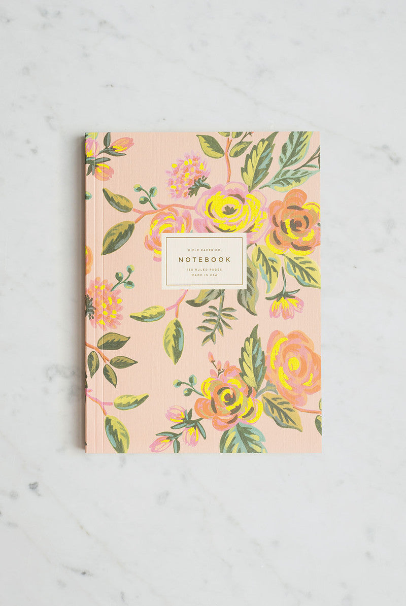 'Jardin De Paris' Memoir Notebook