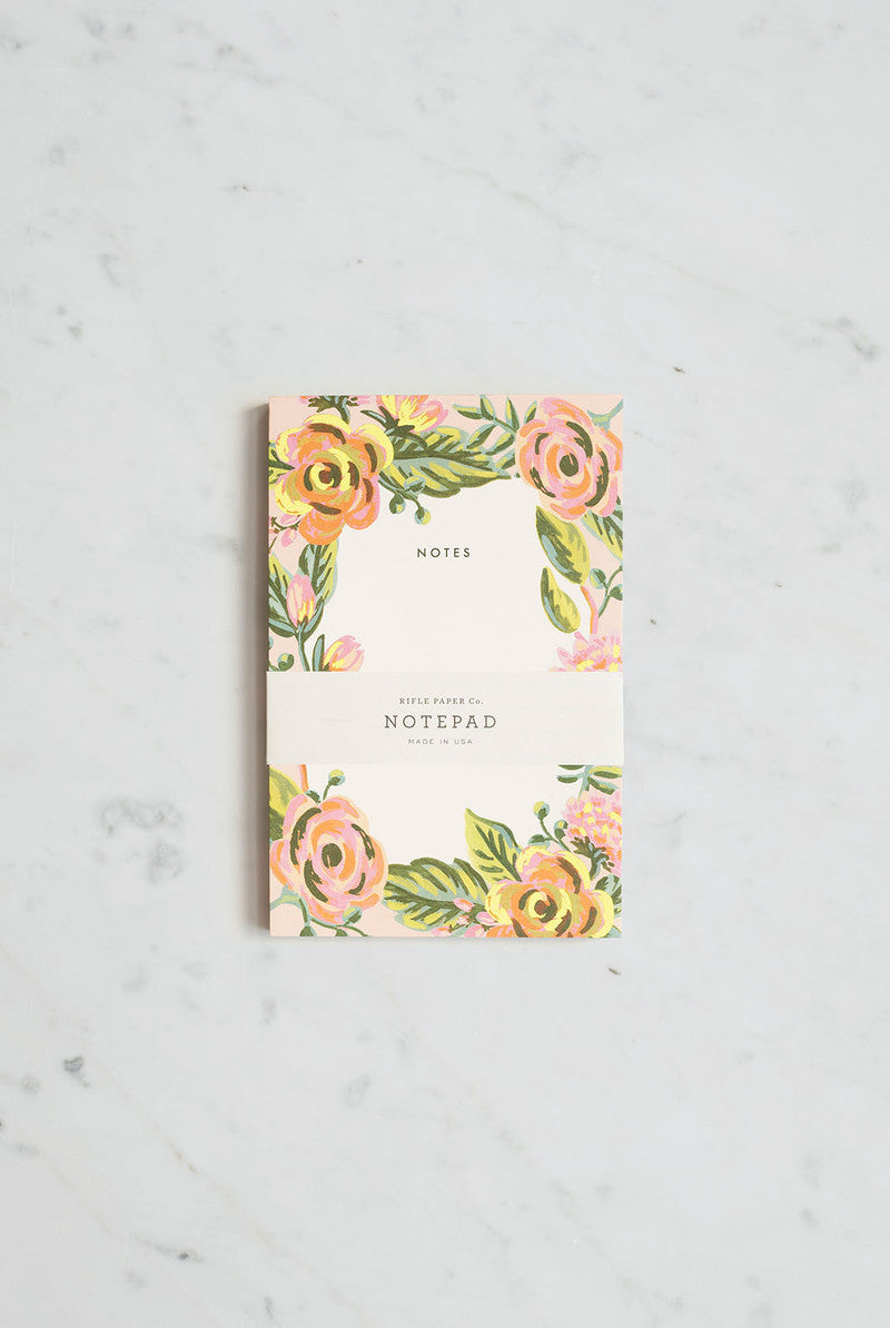 'Jardin De Paris' Notepad
