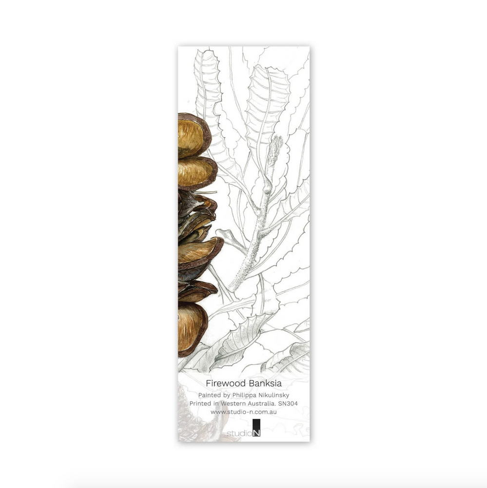 'Firewood Banksia' Bookmark