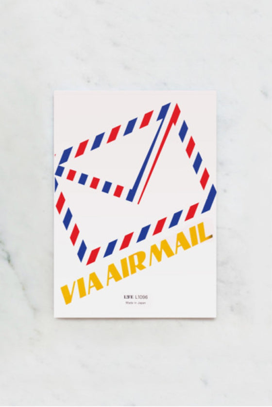 Japanese 'Airmail' Letter Writing Pad