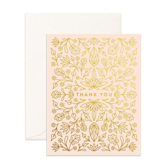 'Thank You' Grecian Greeting Card