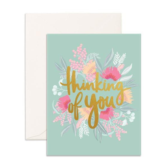 'Thinking of You' Wildflower Greeting Card