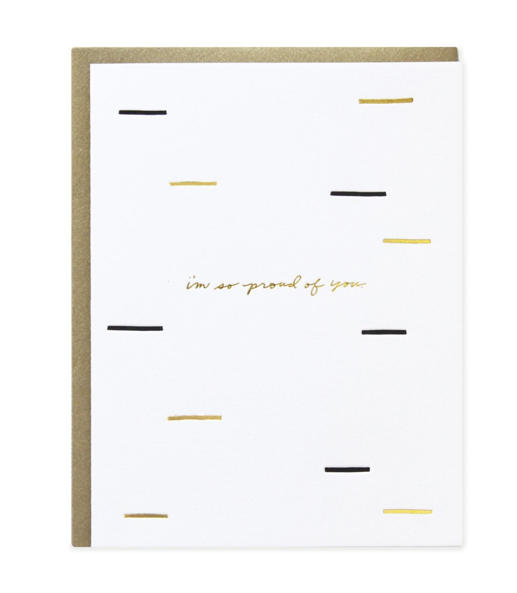 'I'm so Proud of You' Greeting Card