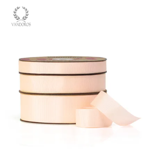 Essentials Grosgrain 'Peach' Ribbon