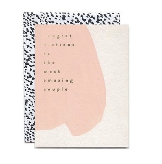 'Congratulations To The most Amazing Couple' Greeting Card