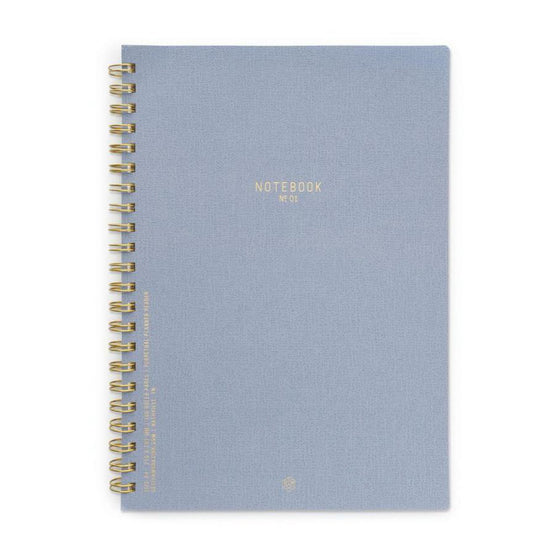 'Neptune Blue' Twin Wire Notebooks