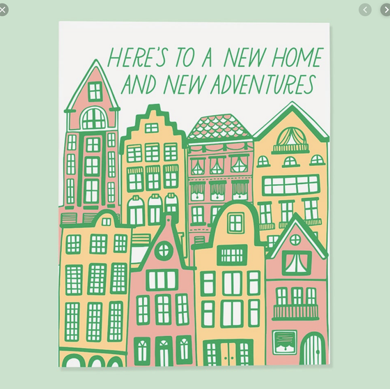 'New Home and New Adventures'
