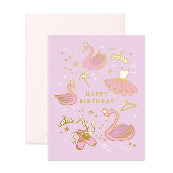 'Happy Birthday' Ballet Greeting Card