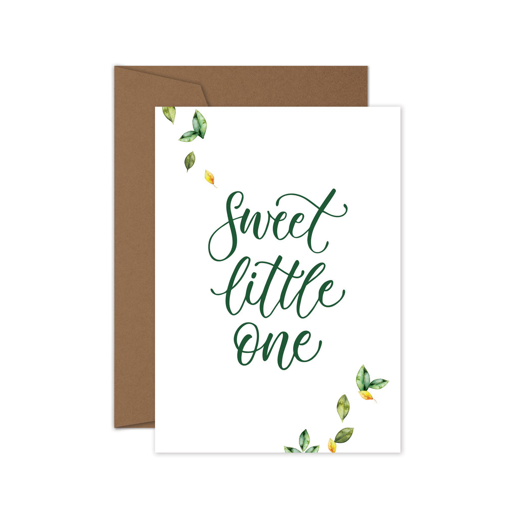 'Sweet Little One' Greeting Card