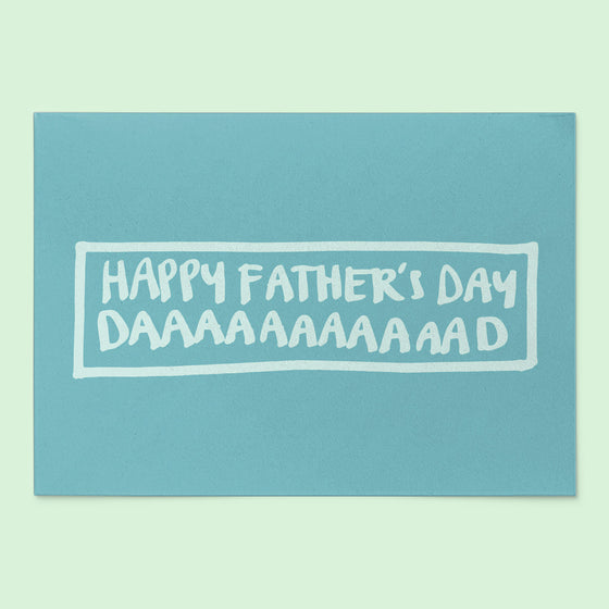 'Happy Father's Day Dad' Greeting Card