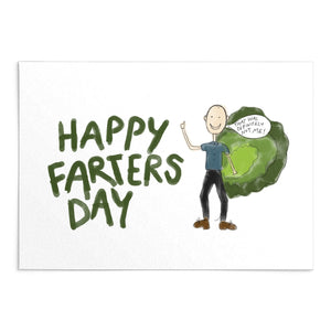 'Happy Farters Day' Greeting Card