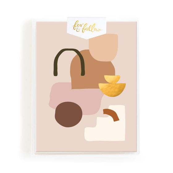 Blank 'Biscuit Composition' Greeting Card Boxed Set