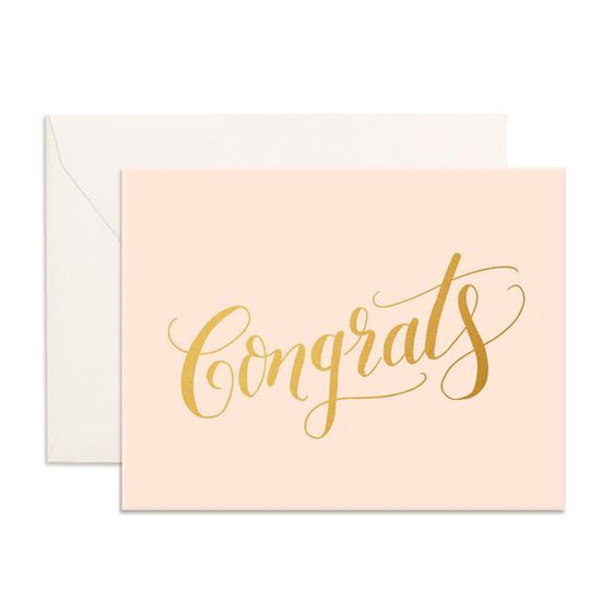 'Congrats' Nude Greeting Card