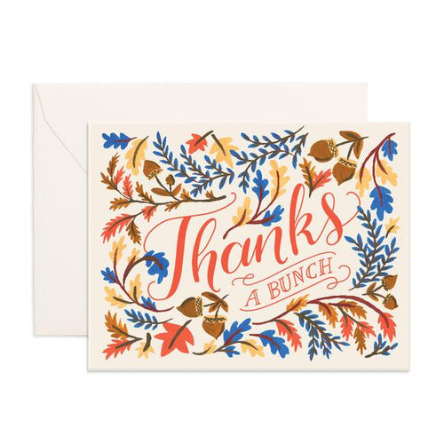 'Thanks A Bunch' Greeting Card