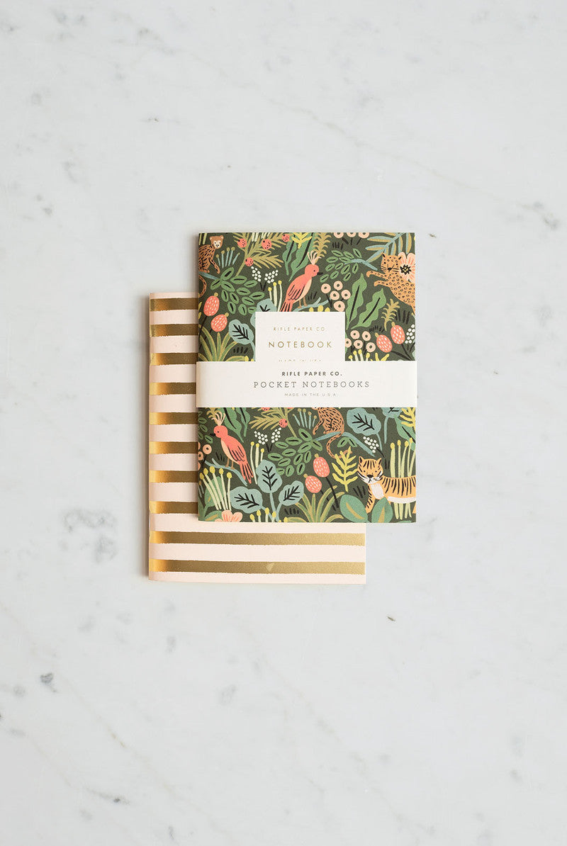 'Jungle' Pocket Notebooks (2)