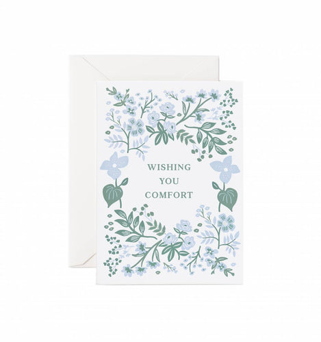 'Wishing You Comfort' Greeting Card