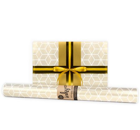 'Gold Stars' Gift Wrapping Paper (Options)