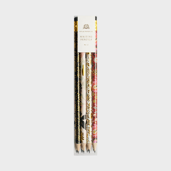 HB 'Modernist' Writing Pencils (Set of 12)