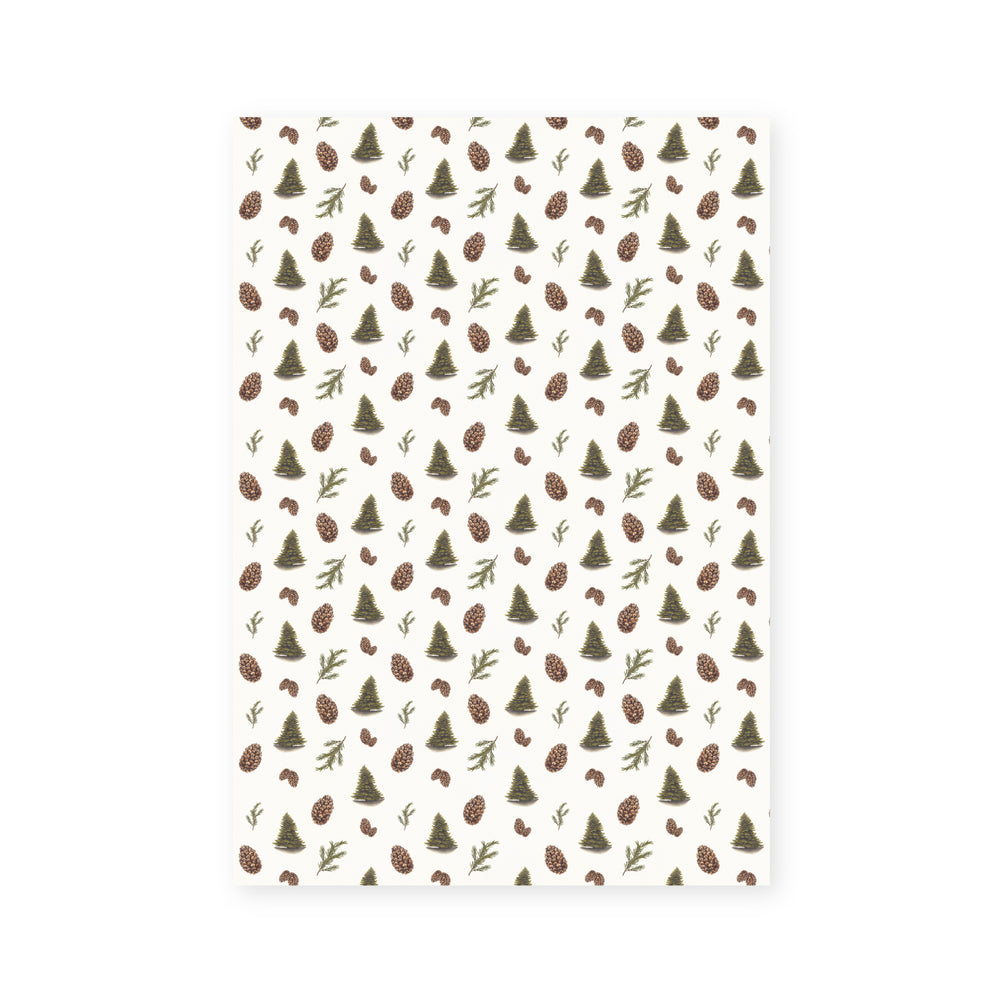 'Pine Forest' Wrapping Paper (1m)