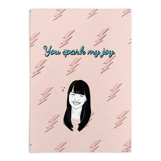 'You Spark My Joy' Greeting Card""