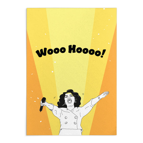 'Woo Hoo' Greeting Card
