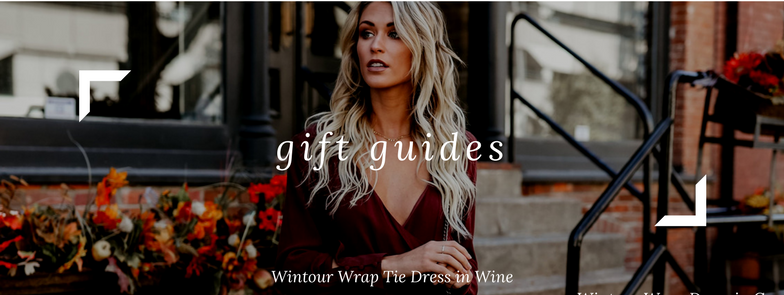 Holiday Gift Guides in Canada by Lace and Charm Online Clothing Boutique