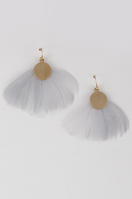 Feather Fluff Earrings
