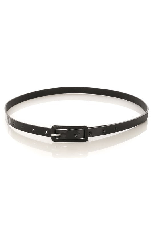 Let's Keep It Simple and Sweet Skinny Belt
