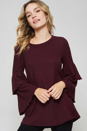 Camila Tiered Sleeve Top - FINAL FEW