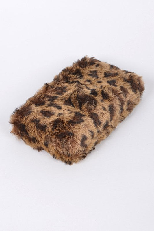 Feline Fine Faux Fur Handbag / FINAL SALE